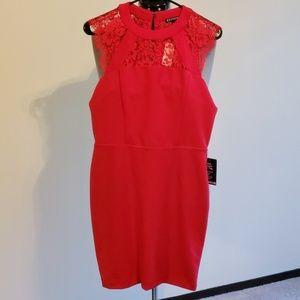 NWT Express red sheath dress